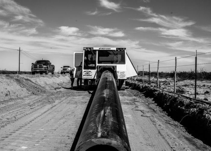 Large Industrial Pipe